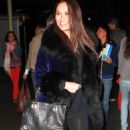 Tia Carrere in leggings out and about in Beverly Hills, November 24, 2010