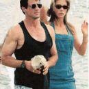 Jennifer Flavin and Sylvester Stallone