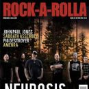 Scott Kelly, Steve Von Till, Noah Landis, Dave Edwardson - Rock-A-Rolla Magazine Cover [United Kingdom] (October 2015)