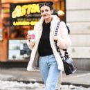 Victoria Justice – Out and About During New York Fashion Week, February 2017 - 454 x 671