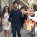 Celebrities visit NBC studios for an appearance on the 'Today' show on May 28, 2015 in New York City, New York