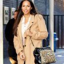 Leona Lewis Visits ITV Studios