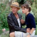 Bruce Willis and Amanda Peet