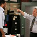 Victor Williams as Deacon and Kevin James as Doug in CBS Television 'The King of Queens
