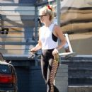 Julianne Hough in Black Tights – Out and about in LA