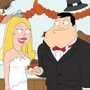 Wendy Schaal and Seth MacFarlane