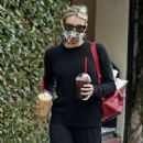 Emma Roberts – On a coffee run in Los Angeles