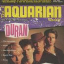 Nick Rhodes, Simon Le Bon, John Taylor - Aquarian Magazine Cover [United States] (10 March 1993)