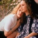 Sara Gilbert and Drew Barrymore