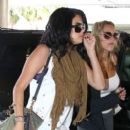 Selena Gomez arrives in Miami