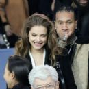 Model Barbara Palvin is joined by Kylie Jenner's ex Tyga as she watches rumoured footballer beau Neymar at PSG game in Paris - 454 x 469