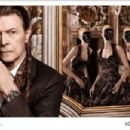 David Bowie and Arizona Muse for Louis Vuitton The Art Of Travel