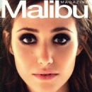 Emmy Rossum Covers Malibu's Winter 2011 Issue