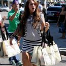 Miley Cyrus Walks Around The Shops In Beverly Hills, 2008-08-23