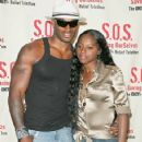 Foxy Brown and Tyson Beckford - 358 x 550
