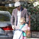 Ben Affleck and Violet out in Pacific Palisades, CA (April 3)