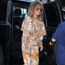Rita Ora – Arriving at Z100 studios in New York - 454 x 665