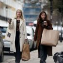 Jenna Louise Coleman and Dianna Agron – Shopping in London - 454 x 537