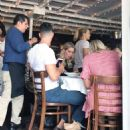 Claire Holt with her family out to lunch in West Hollywood - 454 x 565