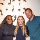 Serena Williams and Caroline Wozniacki – Serena Williams Pop Up during Art Basel in Miami Beach