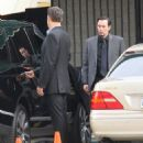 Vince Vaughn is spotted on the set of the hit HBO series 'True Detective' filming in Los Angeles, California on January 30, 2015 - 454 x 558