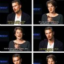 Shailene Woodley and Theo James - 236 x 293