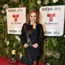 Ana Maria Canseco- Telemundo NATPE Party Red Carpet Arrivals - 400 x 600