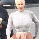 Amber Rose at the 'Dancing With The Stars' studios for taping in Hollywood, California - September 12, 2016 - 306 x 837