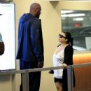 Lamar Odom spotted at Wells Fargo Bank  in Beverly Hills, California on January 31, 2017 - 438 x 600
