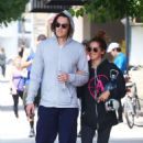 Ashley Tisdale and Christopher French Leaving the gym in Studio City - 454 x 681