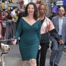 Fran Drescher – Leaves 'Good Morning America' in NY - 454 x 668