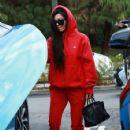 Kourtney Kardashian celebrating a friend's birthday at Lovis Restaurant in Calabasas, California on January 9, 2017 - 425 x 600