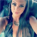 Sammi Giancola used her long hair to hide her cleavage