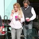 Britney Spears Out For Yoghurt In Calabasas, April 5 2010