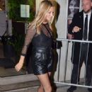 Kate Moss – Leaving a London Fashion Week Event