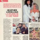 Heather Locklear - Télé 7 Jours Magazine Pictorial [Canada] (27 October 1990)