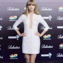 Taylor Swift attends the 40 Principales Awards in Madrid on Jan. 24, 2013