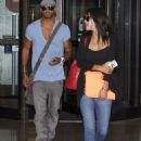 Jessica Szohr and Ricky Whittle