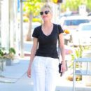 Melanie Griffith out for a smoke break in WeHo March 31, 2017 - 399 x 600