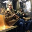 Nicky Hilton – Riding the subway in New York - 454 x 582