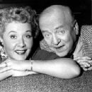 William Frawley and Vivian Vance