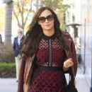 Famke Janssen – Out for shopping in Beverly Hills