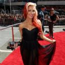 Bonnie McKee arrives at the MTV Video Music Awards - 411 x 600
