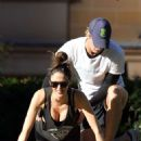 Nicole Trunfio Working Out In Sydney