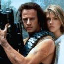Christopher Lambert and Loryn Locklin