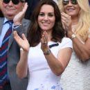 Kate Middleton – Mens Singles Final at Wimbledon Tennis Championships in London - 454 x 664