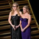 Kate Winslet and Reese Witherspoon at The 88th Annual Academy Awards - The Show (2016)