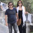 Lina Printzou and Vassilis Haralambopoulos- Acropolis museum visit - 454 x 608