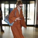 Gigi Hadid – Arriving at the airport in Milan