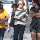 Robin Wright – Walk with her friends in West Hollywood - 454 x 666